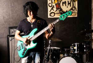Fender Jino Jazz Bass RW SFMG 日野賢二 JINO シグネイチャー エレキベース登場