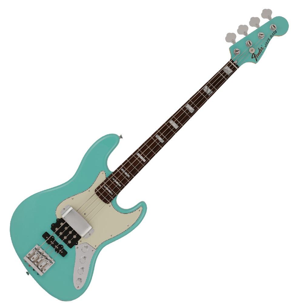 Fender Jino Jazz Bass RW SFMG 日野賢二 JINO シグネイチャー エレキベース 正面