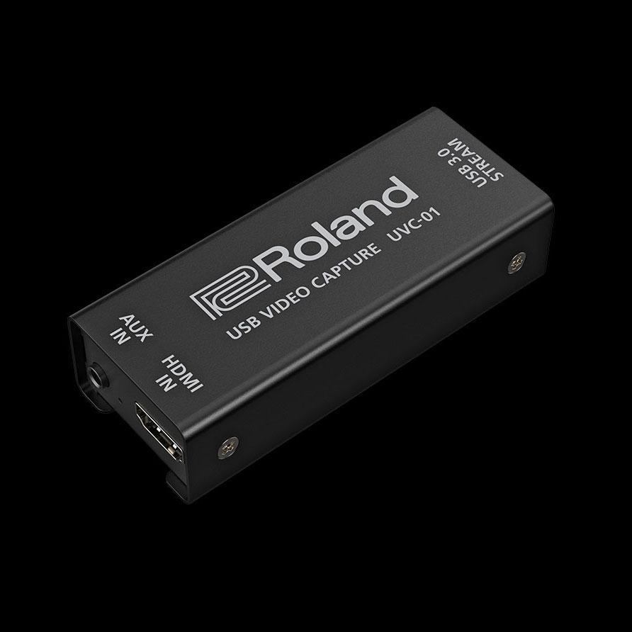 Rolandからドライバー不要のHDMI to USB3.0 ビデオキャプチャー[UVC-01]が登場!