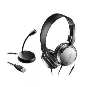 AUDIO-TECHNICA AT9933USB PACK USBマイク ヘッドホン ホームオフィスパック