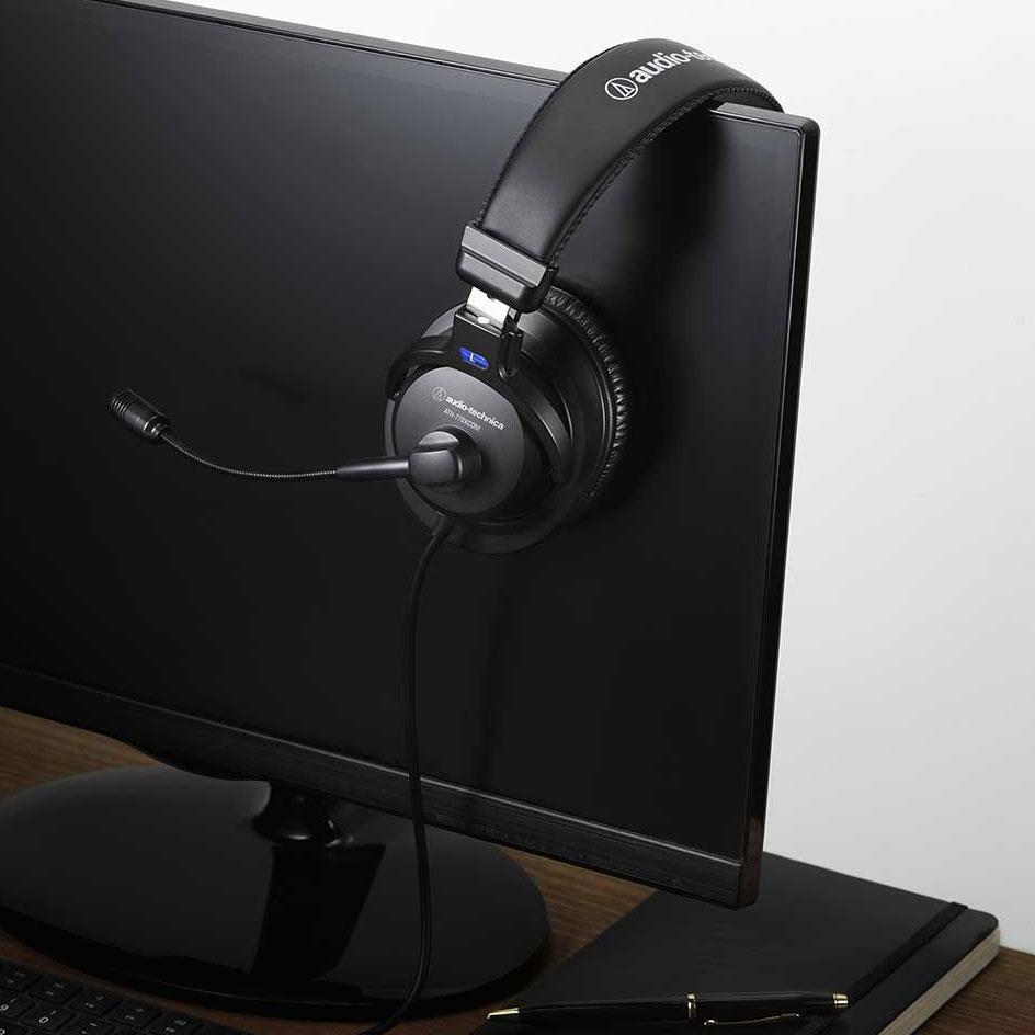 ミュートスイッチ、ボリュームコントロール装備!3.5mm4極ミニプラグ採用の高音質ヘッドセット「audio-technica ATH-770XCOM」が発売。