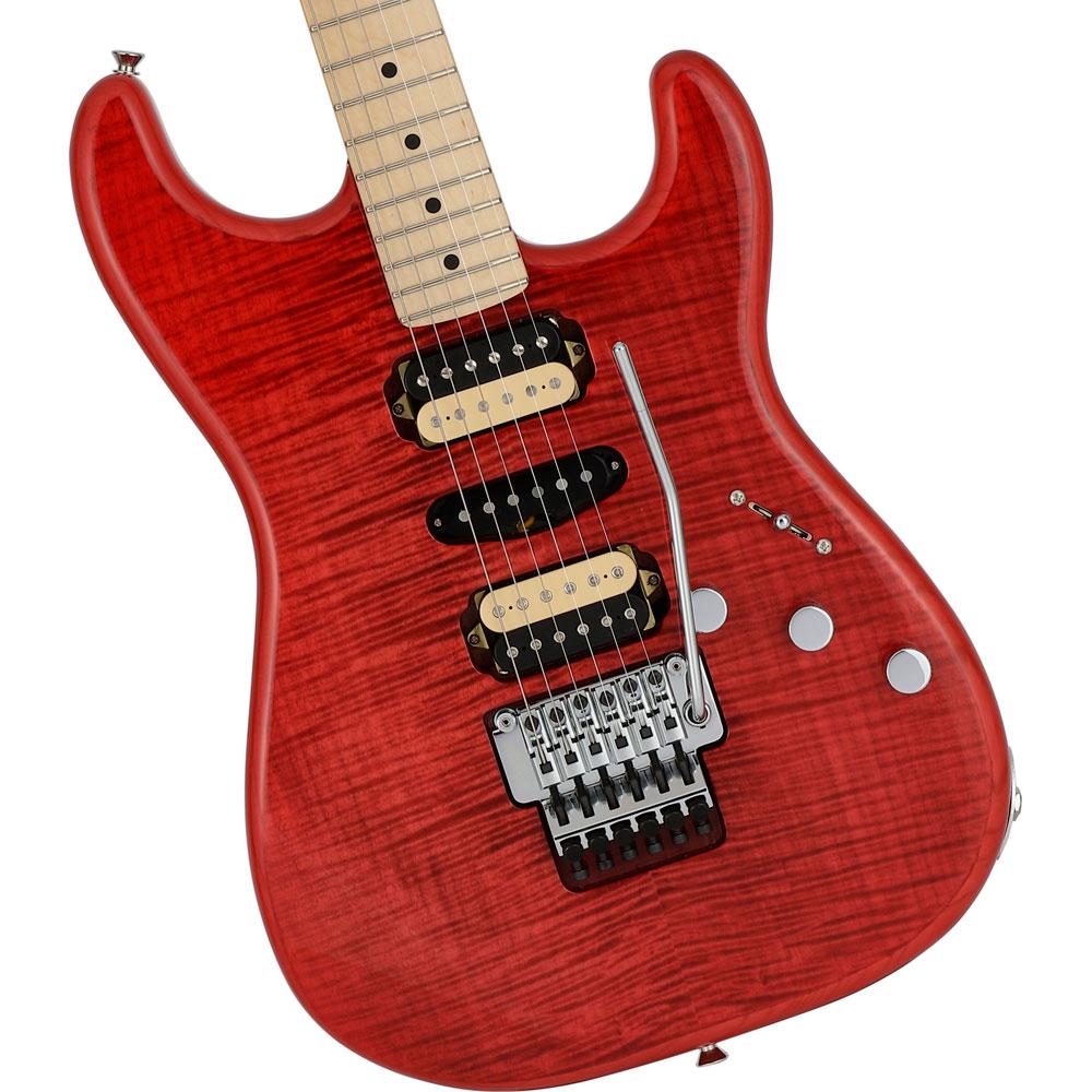 Fender Michiya Haruhata Stratocaster Trans Pink エレキギター ボディ 全体像