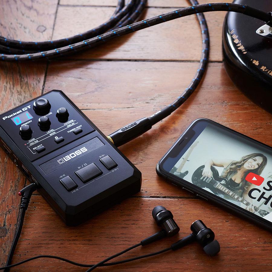 ポケットサイズのアンプ/エフェクトプロセッサー『BOSS Pocket GT』発売!
