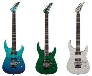 Jackson Pro Series より キルトメイプルトップの Soloist SL2Q MAHが新登場