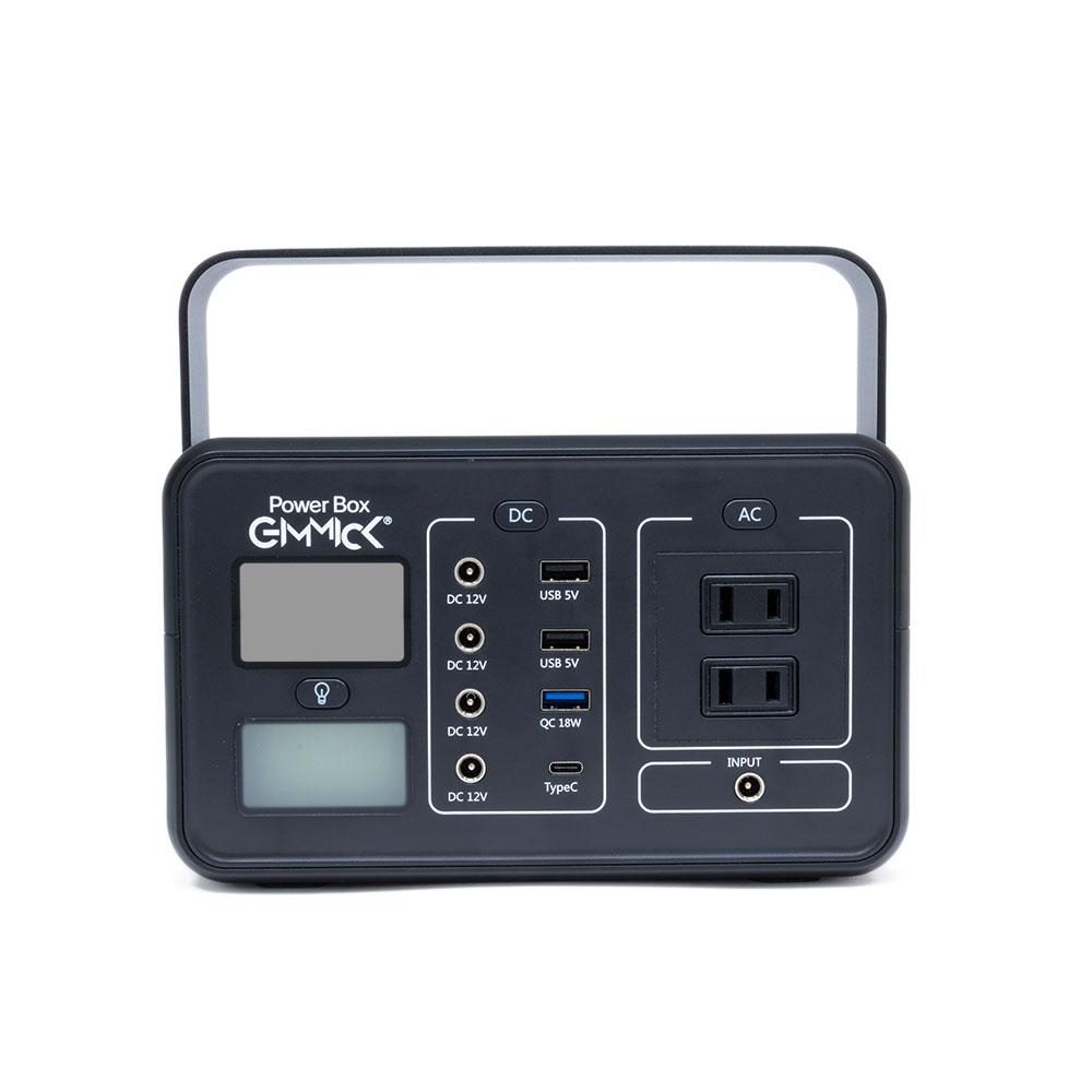 GIMMICK GMP-2500BK Power Box ポータブル電源 容量60,000mAh AC・DC出力搭載