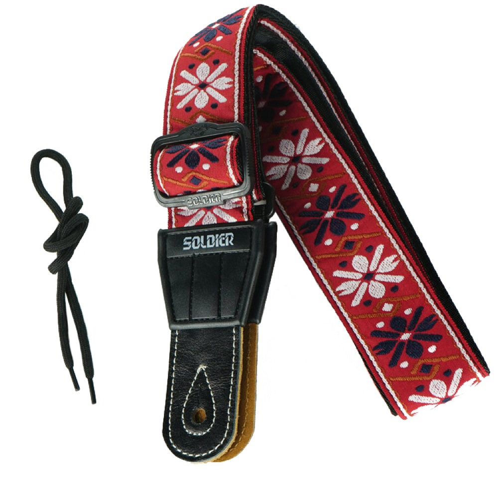 Soldier Strap Guitar Strap STP-134 デザインE