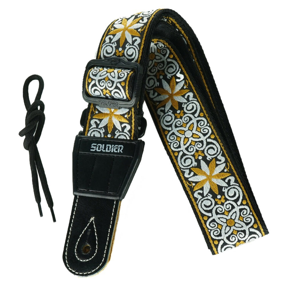 Soldier Strap Guitar Strap STP-134 デザインF