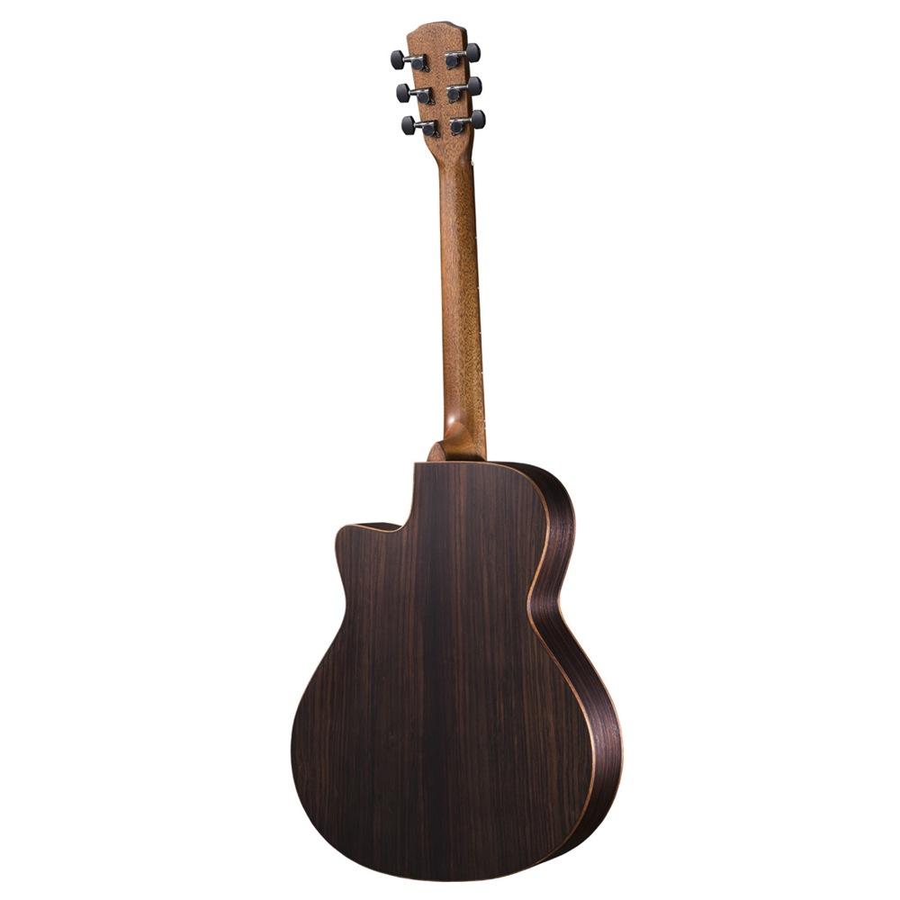 MORRIS SC-32U 打田十紀夫 Signature Model モーリスアコースティックギター ボディ背面全体の画像