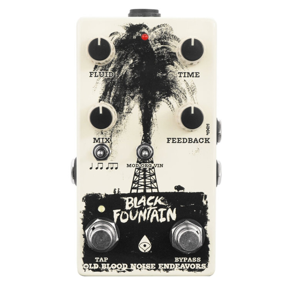 Old Blood Noise Endeavors Black Fountain V3 w Tap Tempo ギターエフェクター ディレイ
