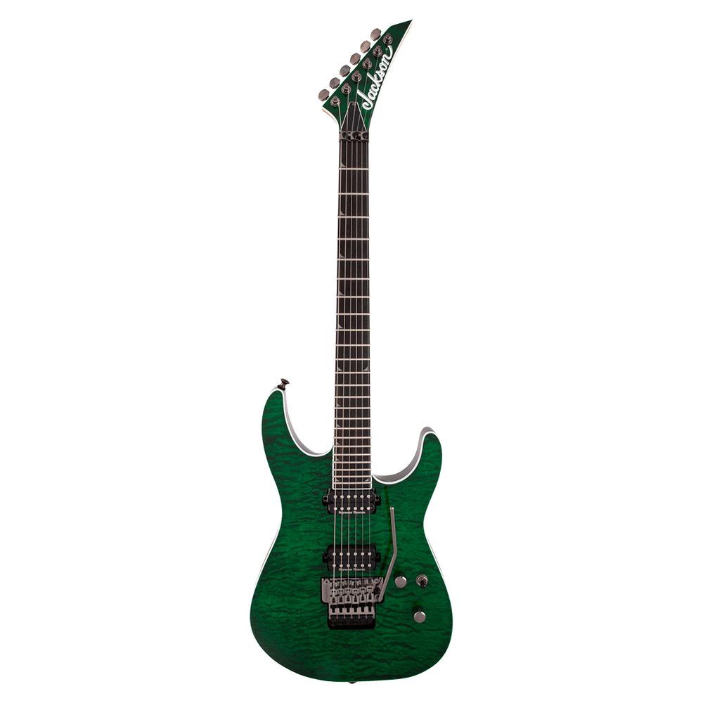 Jackson Pro Series Soloist SL2Q MAH Transparent Green