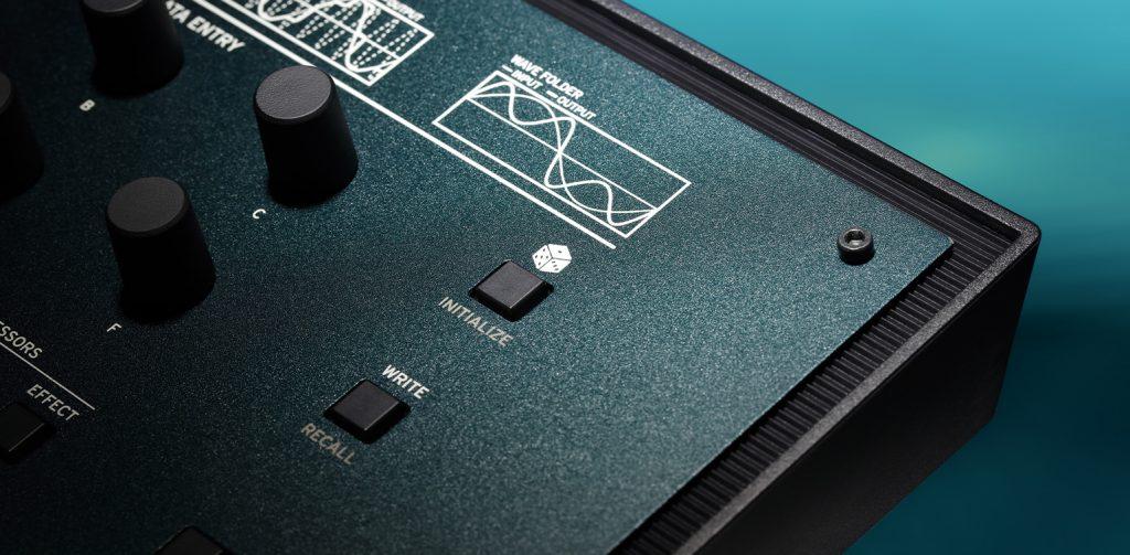 KORG opsix FMシンセサイザーランダマイズ機能ボタン