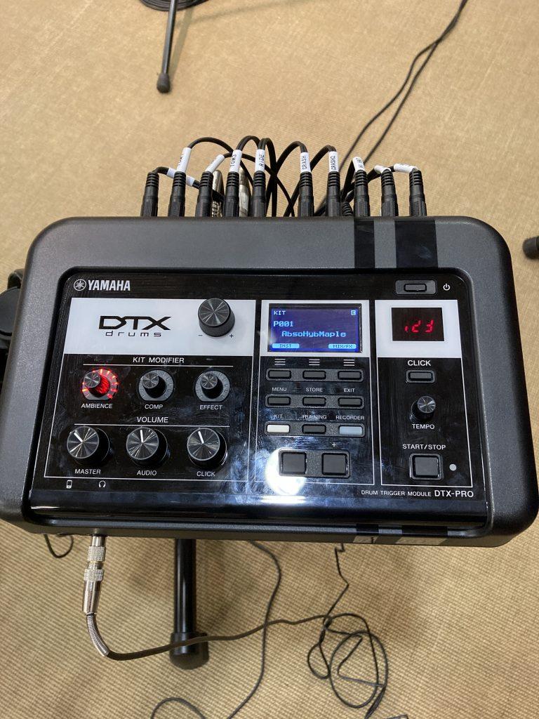 YAMAHA DTX6K3-XUPD ヤマハ DTX6シリーズ DTX-RPO 電子ドラムトリガーモジュール