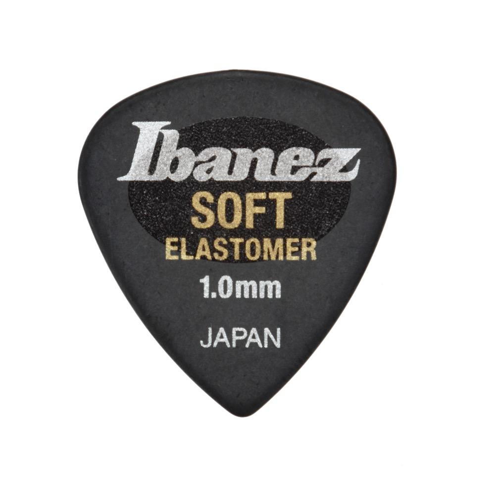 IBANEZ EL16ST10S-HBK SOFT 1.0mm ギターピック