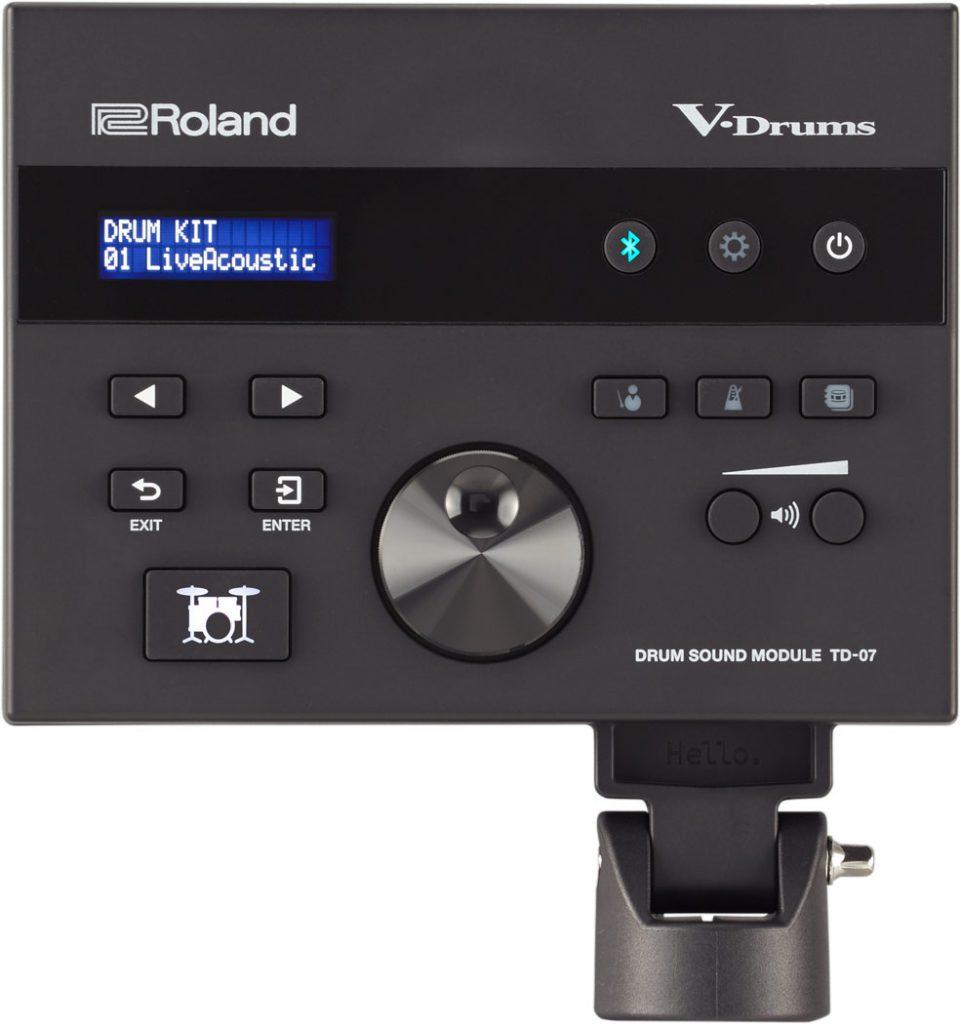 Roland TD-07KV 電子ドラム ドラムキット TD-07 サウンドモジュール画像