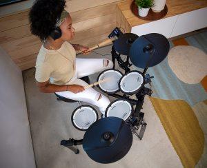 オールメッシュヘッド&新開発音源でVドラムのクオリティを凝縮した新ラインナップ Roland TD-07KV 登場!