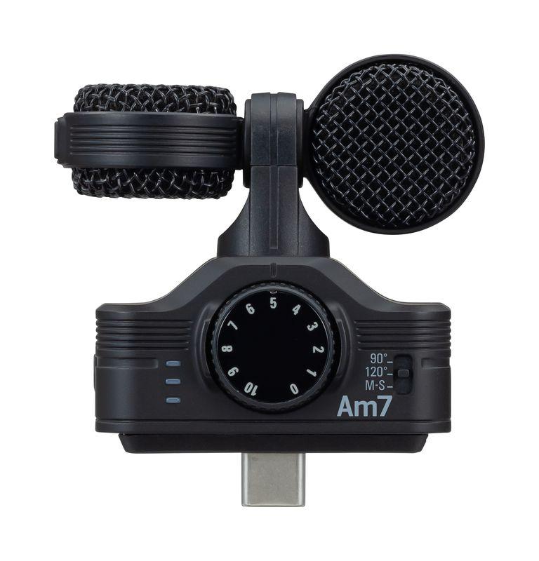 ZOOM 待望のAndroid用 USB Type-C接続 MSステレオマイク Am7 発売