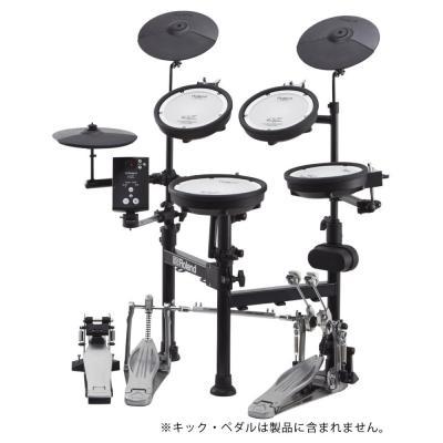 コンパクトに折りたたみ、持ち運び可能なRoland Vドラムシリーズ TD-1KPX2 V-Drums Portable