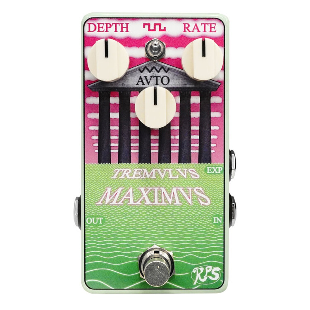 RPS Effects TREMULUS MAXIMUS トレモロ ギターエフェクター