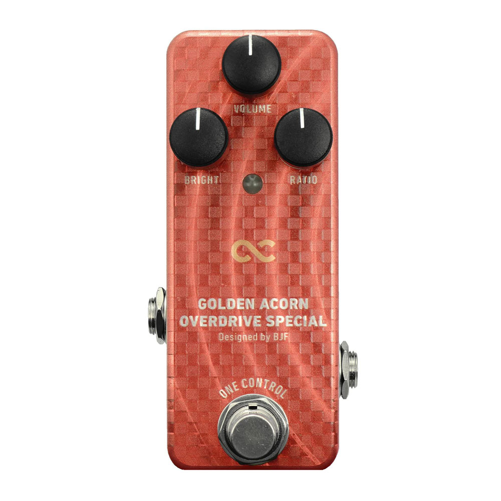 One Control Golden Acorn Overdrive Special オーバードライブ ギターエフェクター