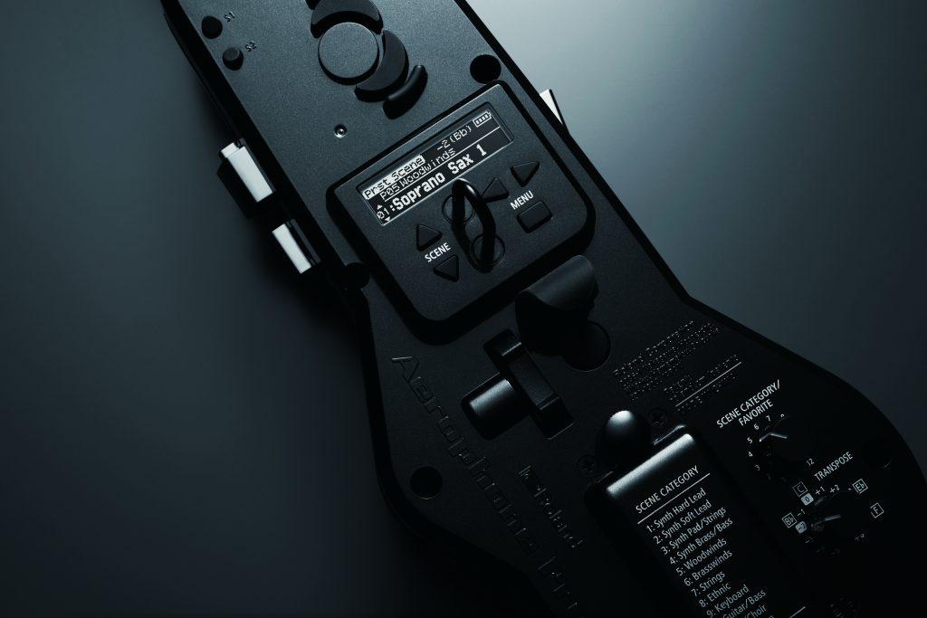 ROLAND Aerophone Pro AE-30背面液晶画面の画像