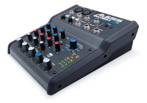 Alesisからオーディオインターフェイスとエフェクトを内蔵した小型ミキサー「MULTIMIX4 USB FX」「MULTIMIX8 USB FX」を発売