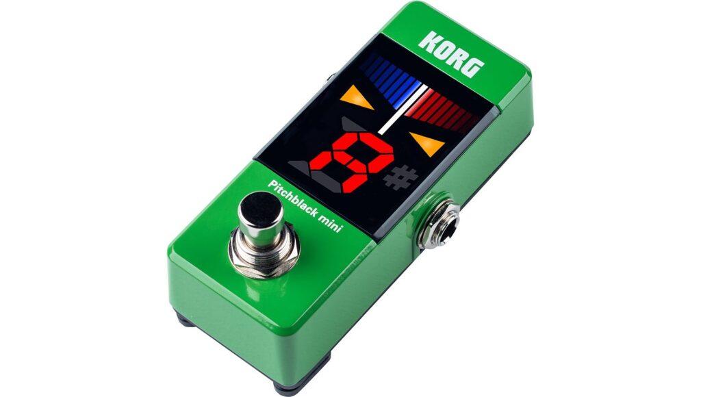 KORG PB-MINI GR pitchblack mini クロマチックチューナー Green グリーンの画像