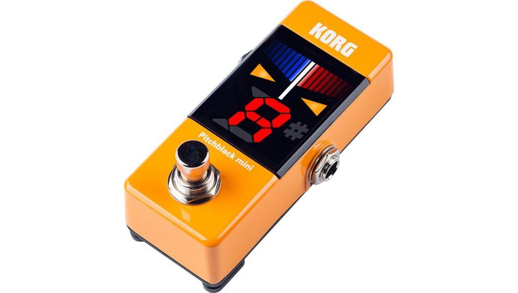 KORG PB-MINI OR pitchblack mini クロマチックチューナー Orange オレンジの画像