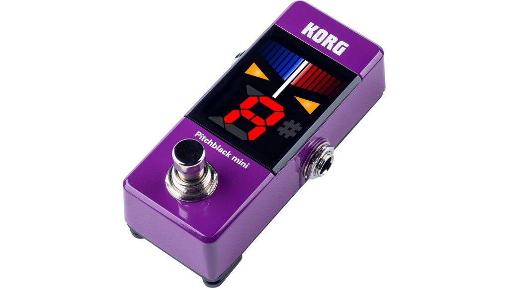 KORG PB-MINI PU pitchblack mini クロマチックチューナー Purple パープルの画像