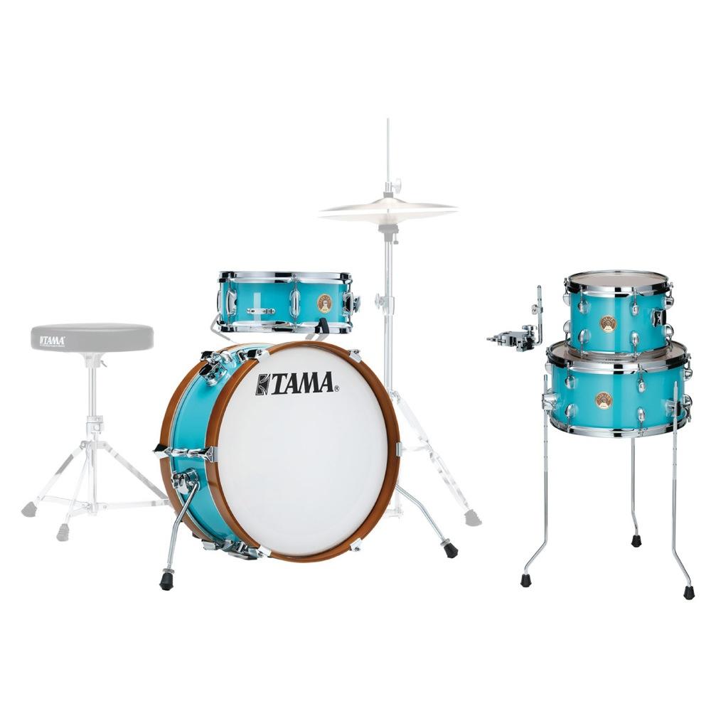 TAMA LJK28S-AQB & LJKT10F14-AQB CLUB-JAM MINI KIT ドラムセット