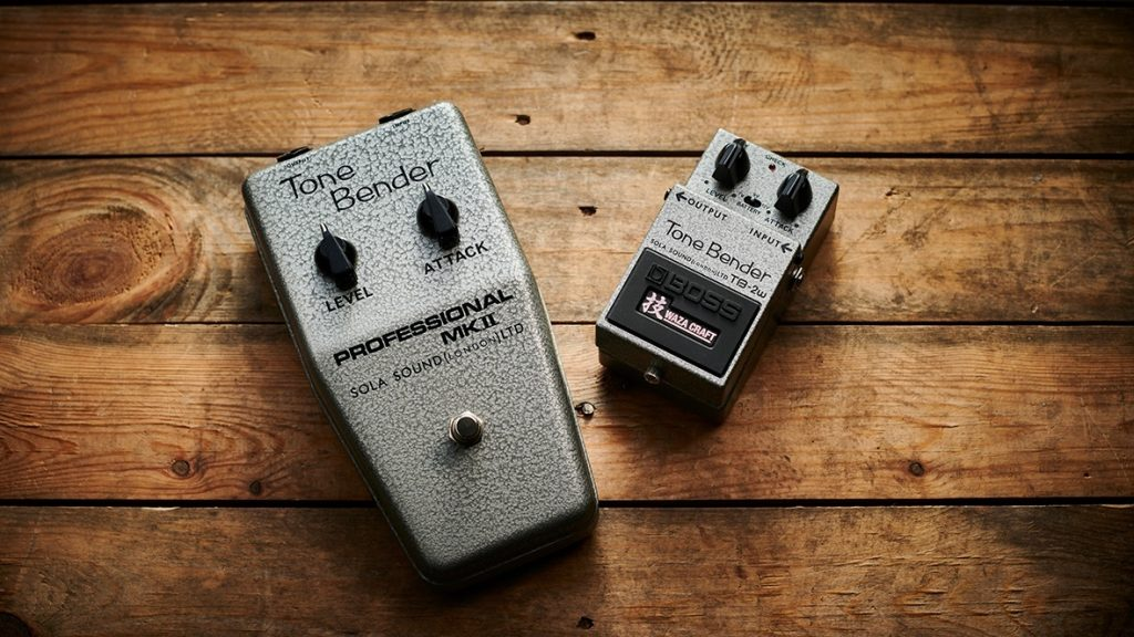 来夏まで待てないよ.. BOSSの新しい技シリーズ TB-2W Tone Benderが発表…