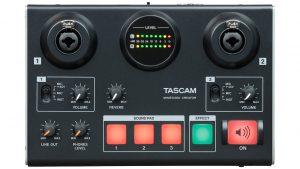 かんたん操作で各種ネット配信サービスを使った音声演出を楽しめる「TASCAM MiNiSTUDIO CREATOR US-42B」発売