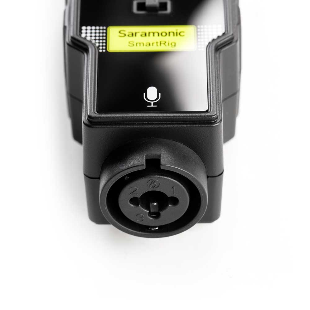 Saramonic SmartRig II スマートフォン用 オーディオインターフェース 入力端子拡大画像