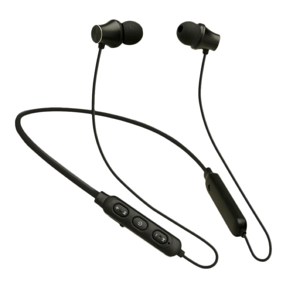 たのしいかいしゃ Bluetoothワイヤレスイヤホン ブラック 大容量バッテリー搭載 TA-BT2 BK