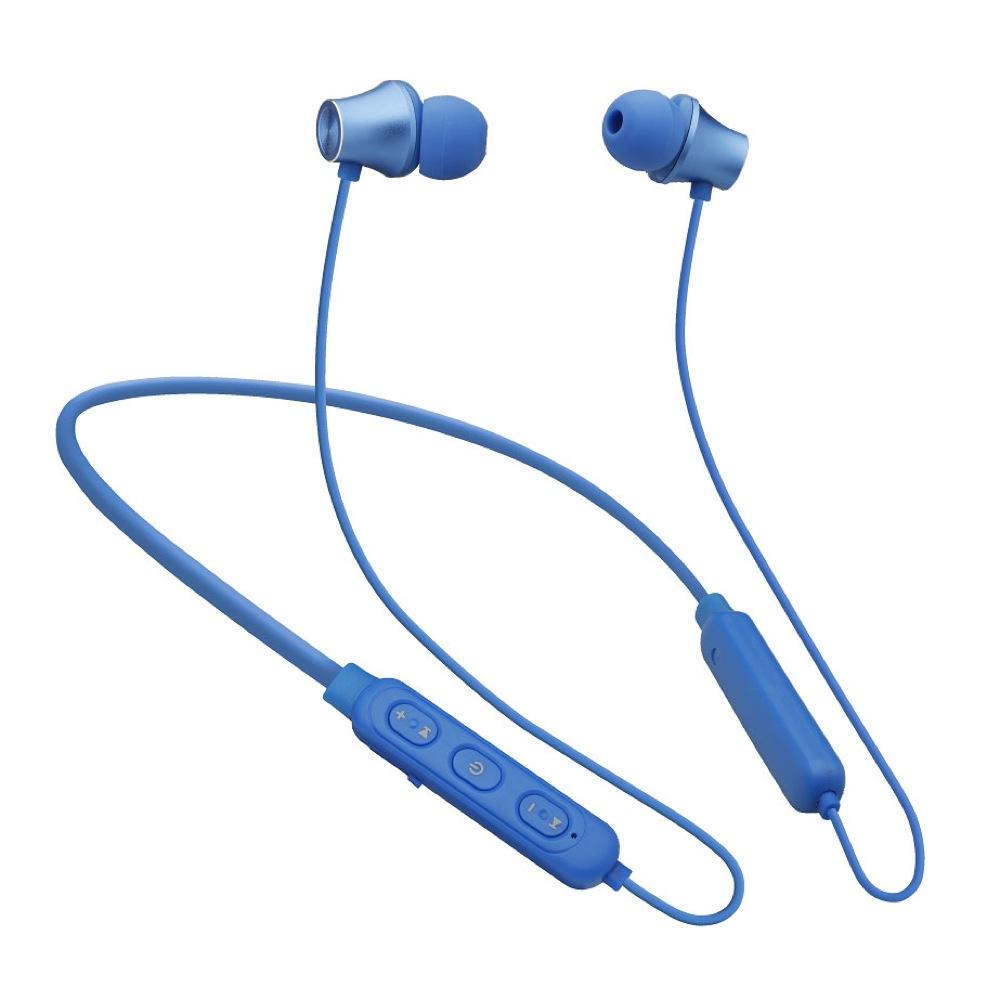 たのしいかいしゃ Bluetoothワイヤレスイヤホン ブルー 大容量バッテリー搭載 TA-BT2 BL