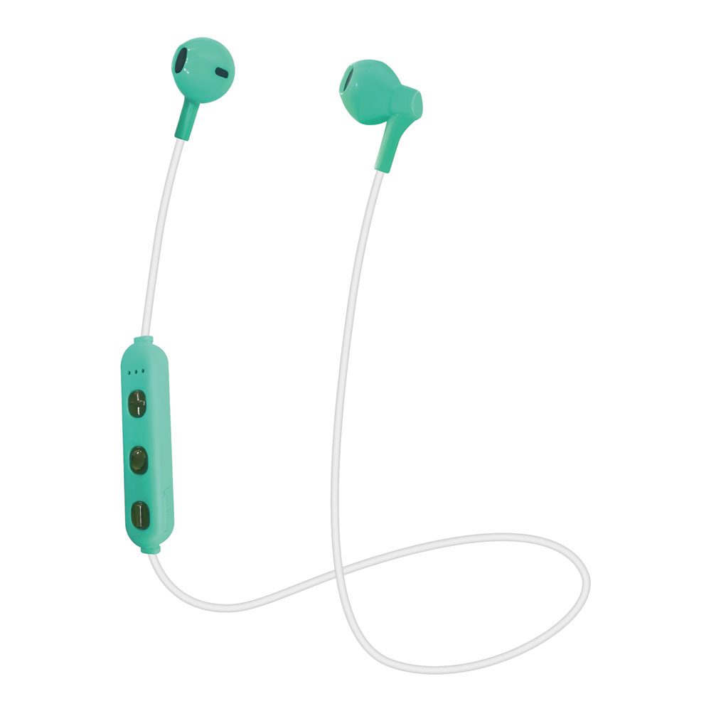 たのしいかいしゃ Bluetoothワイヤレスイヤホン インナーイヤー型 グリーン TA-BT3 GR