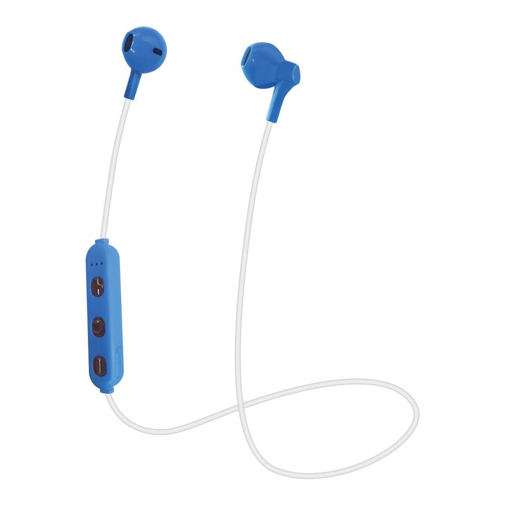 たのしいかいしゃ Bluetoothワイヤレスイヤホン インナーイヤー型 ブルー TA-BT3 BL