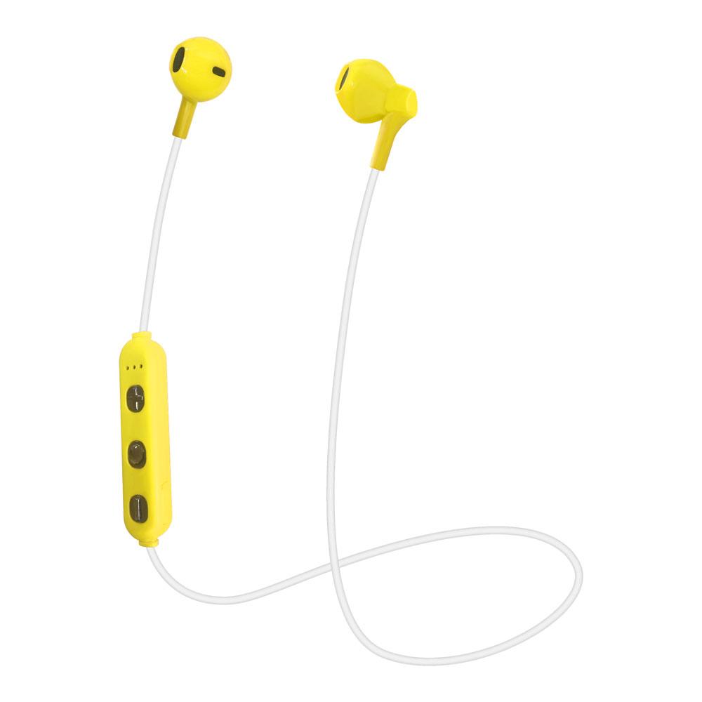 たのしいかいしゃ Bluetoothワイヤレスイヤホン インナーイヤー型 イエロー TA-BT3 YL