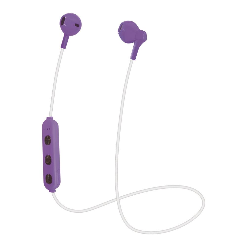 たのしいかいしゃ Bluetoothワイヤレスイヤホン インナーイヤー型 バイオレット TA-BT3 VL