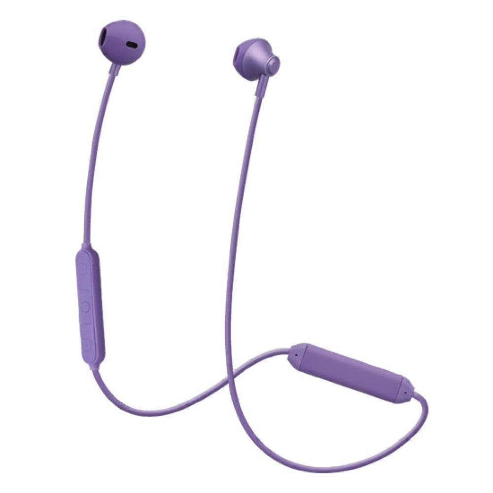 たのしいかいしゃ Bluetoothワイヤレスイヤホン インナーイヤー型 サルビアバイオレット TA-BT4 SVL