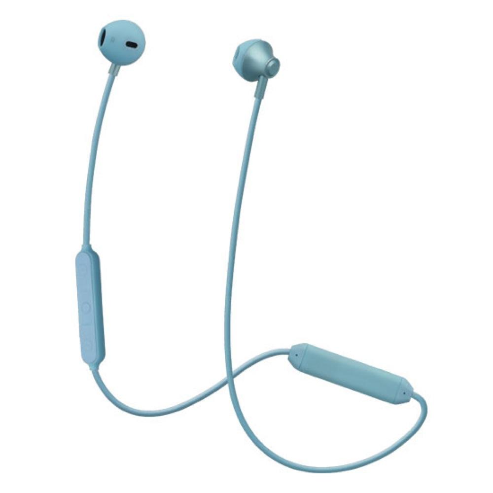 たのしいかいしゃ Bluetoothワイヤレスイヤホン インナーイヤー型 アーズブルー TA-BT4 EBL