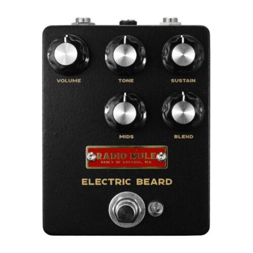 ブラックロシアンマフ×スーパーファズ Radio Mule ELECTRIC BEARD発売開始