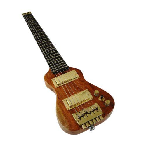 飛行機に持ち込み可能なトラベルギター Lap Axe Exシリーズ 取り扱い開始しました