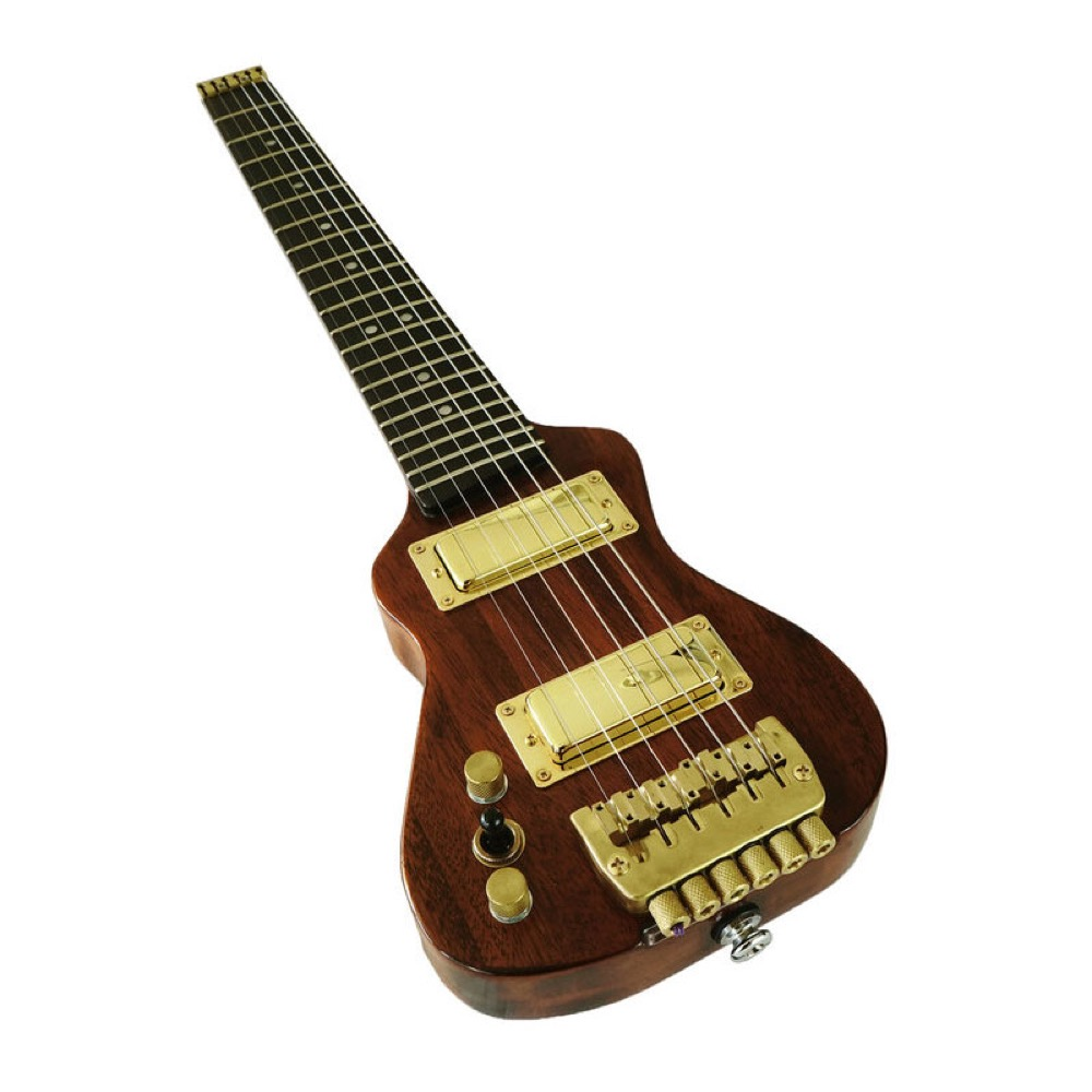 Lap Axe EX-Classic Left Handed Nat Satin Gold LH10-1 トラベルギター