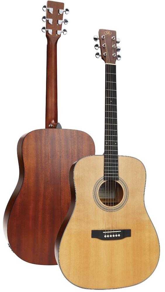SX SD704E エレクトリックアコースティックギター