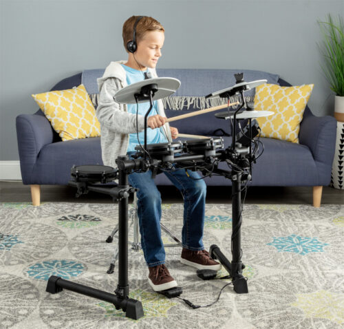 ありそうでなかったミニサイズ 電子ドラム Alesis Debut Kit 発売
