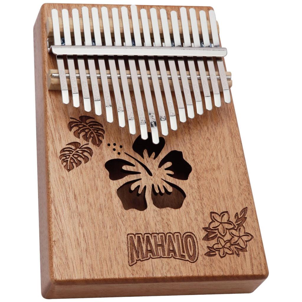 MAHALO M-KALIMBA NTU ネイチャーデザイン カリンバ ハイビスカス モンステラ プルメリア