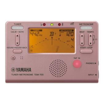 YAMAHA TDM-700P ピンク チューナーメトロノーム 正面画像