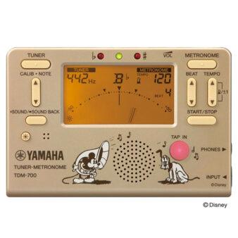 YAMAHA TDM-700DMK ディズニー ミッキーマウス チューナー メトロノーム 正面画像