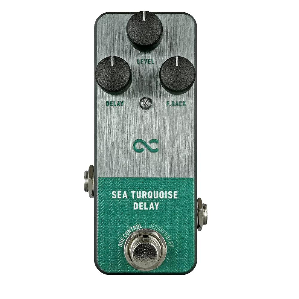 One Control Sea Turquoise Delay ディレイ エフェクター プロトタイプ筐体
