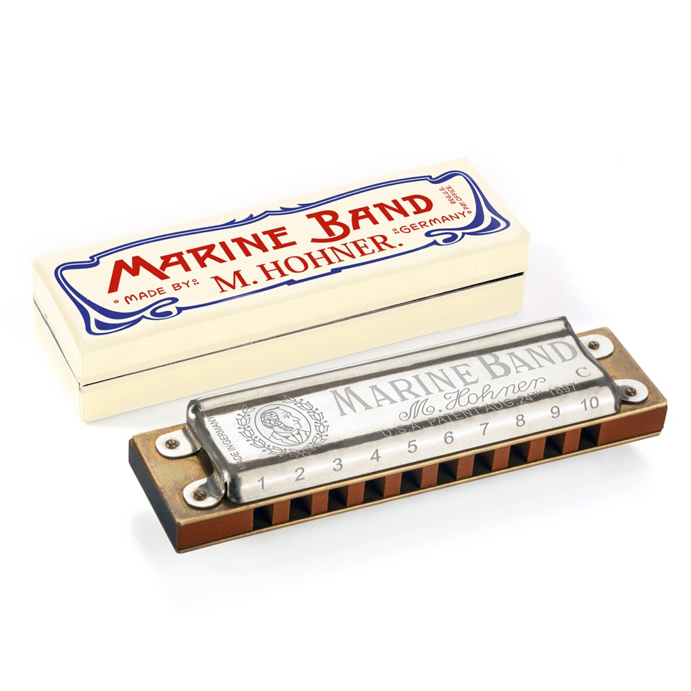 HOHNER 125th ANNIVERSARY MARINE BAND C BOX マリンバンド ハーモニカ